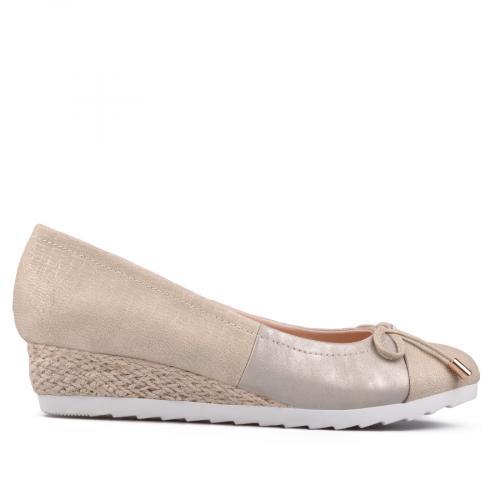 дамски ежедневни обувки златисти 0130133
