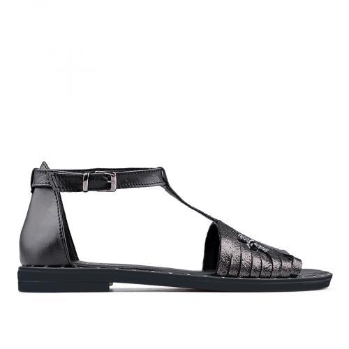 дамски ежедневни сандали черни 0136198