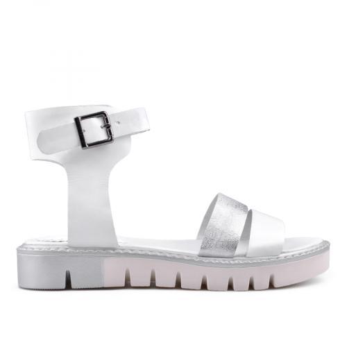 дамски ежедневни сандали бели 0135031