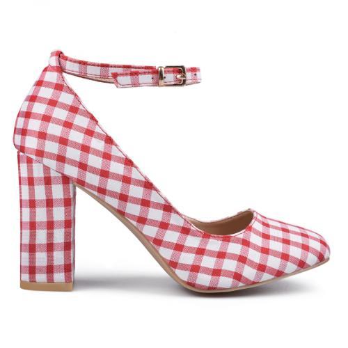 дамски елегантни обувки червени 0133818