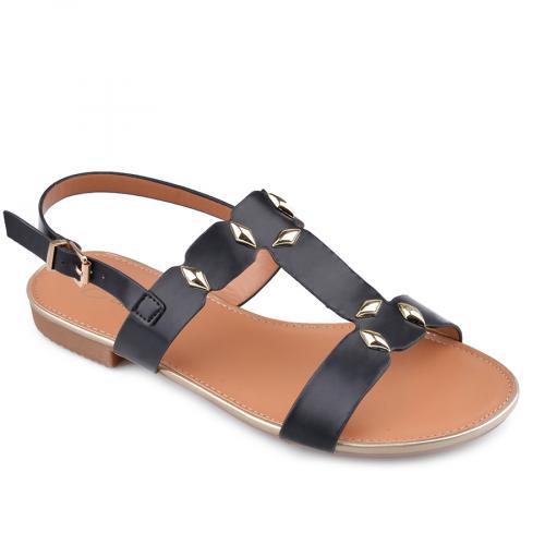 дамски ежедневни сандали черни 0134470