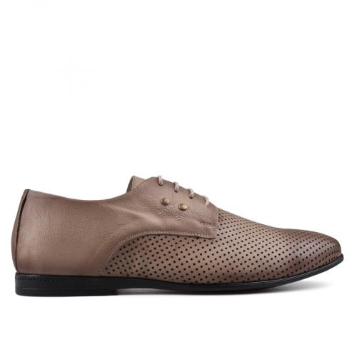 мъжки елегантни обувки кафяви 0134817