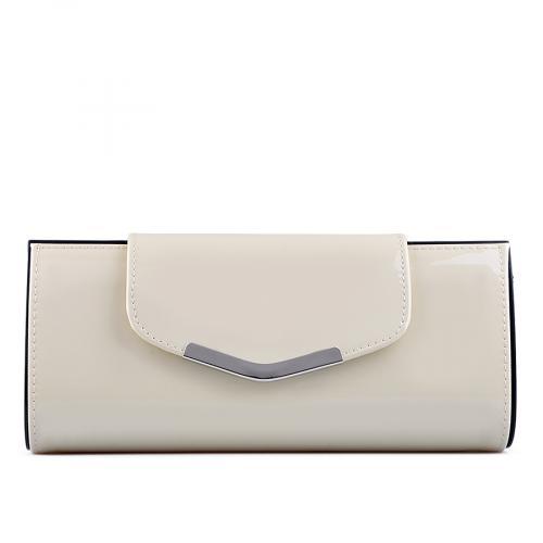 дамска елегантна чанта бежова 0129244