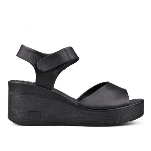 Дамски сандали с платформи 0131374