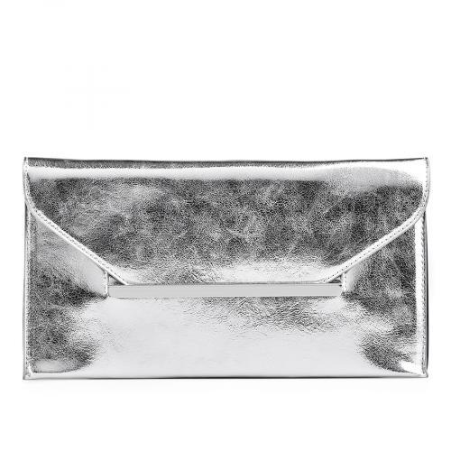дамска елегантна чанта сребриста 0129252