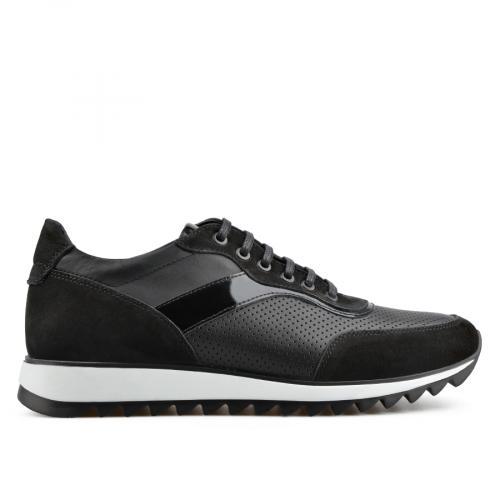 мъжки ежедневни обувки черни 0138308