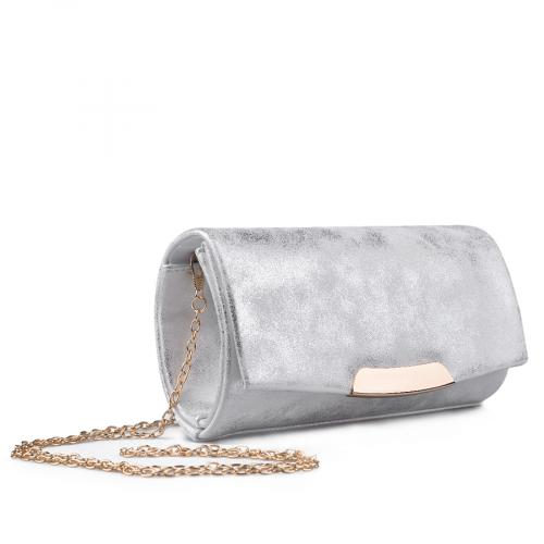 дамска елегантна чанта бяла 0134384