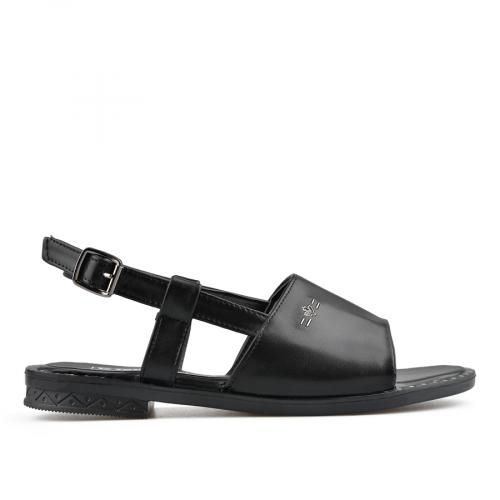 дамски ежедневни сандали черни 0137003