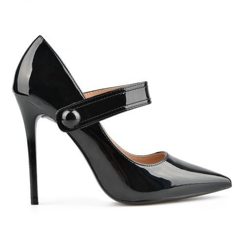 дамски елегантни обувки черни 0137725