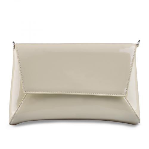 дамска елегантна чанта бежова 0129263
