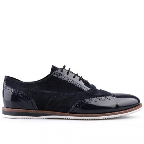 мъжки ежедневни обувки сини 0124849