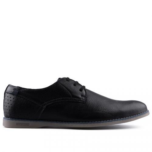 мъжки ежедневни обувки черни 0127510
