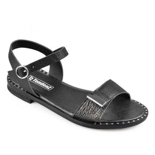 дамски ежедневни сандали черни 0136967