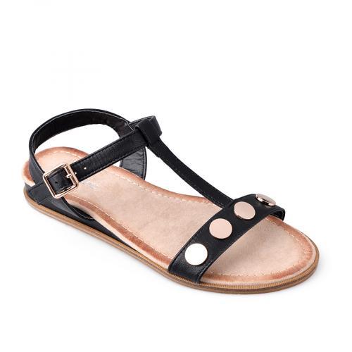 дамски ежедневни сандали черни 0134453
