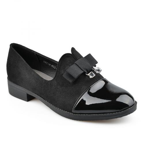 дамски ежедневни обувки черни 0137812