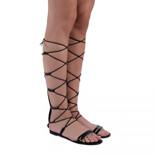 дамски ежедневни сандали черни 0127242