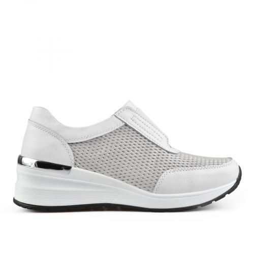 дамски ежедневни обувки бели 0137238
