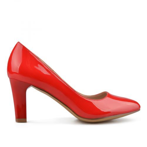 дамски елегантни обувки червени 0138078