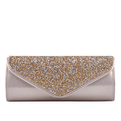дамска елегантна чанта златиста 0129261