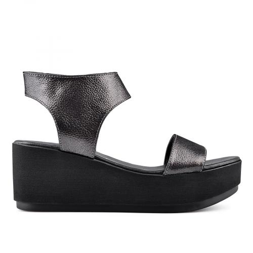 дамски ежедневни сандали черни 0135017