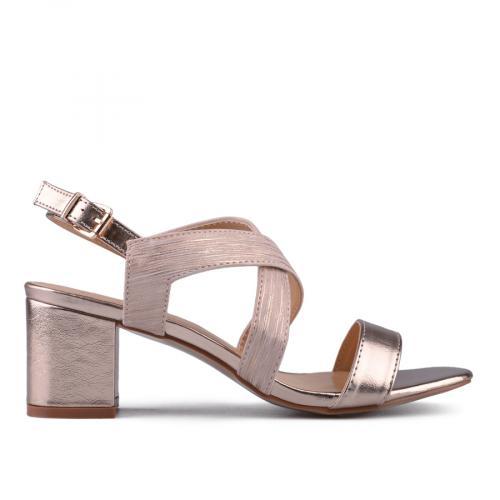 Дамски сандали на среден ток 0133729