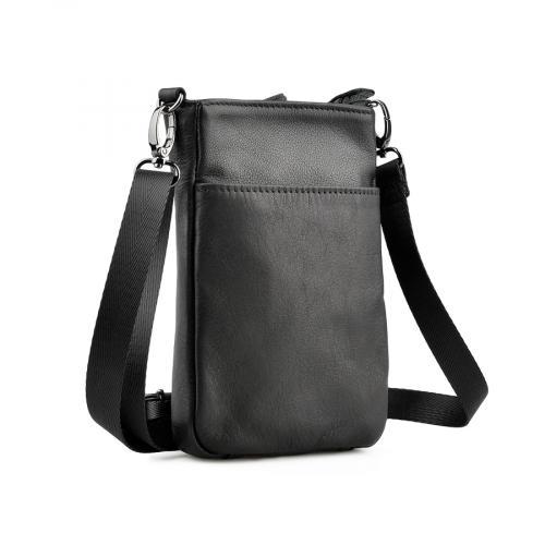мъжка ежедневна чанта черна 0138061