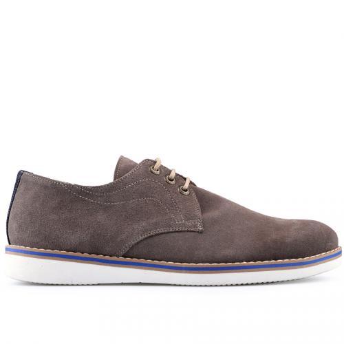 мъжки ежедневни обувки кафяви 0124823