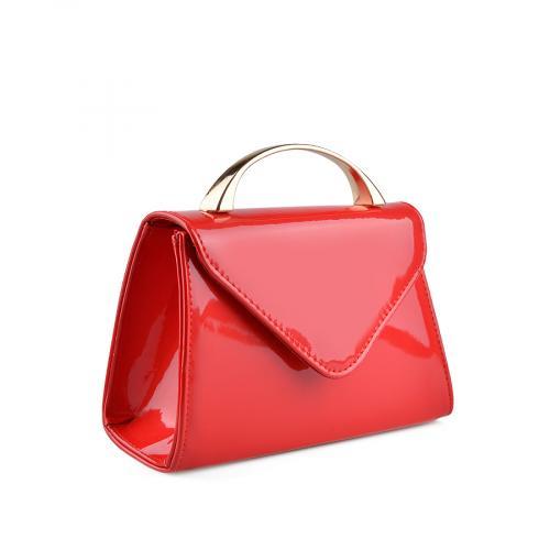 дамска  елегантна чанта червена 0136759