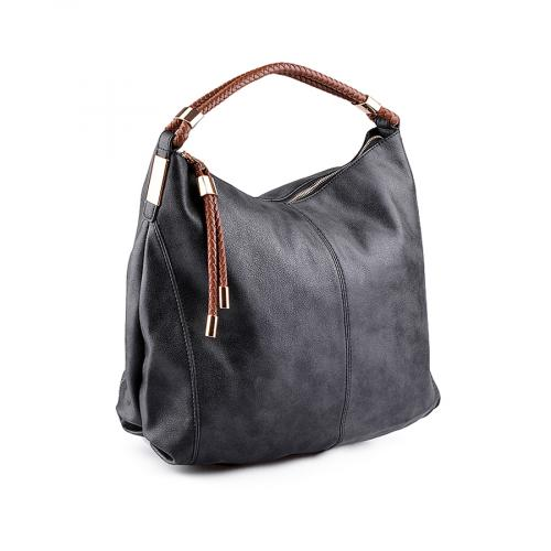 69135f9de42 дамска ежедневна чанта черна