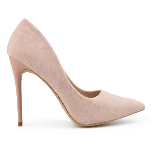 дамски елегантни обувки розови 0137770