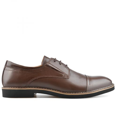 мъжки елегантни обувки кафяви 0138487