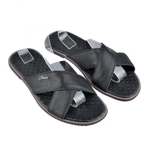мъжки чехли черни 0124932