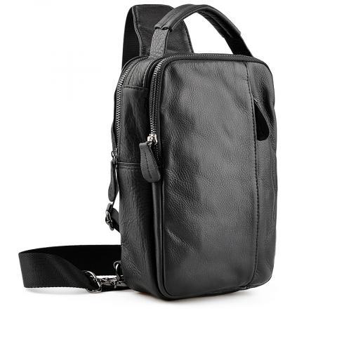 мъжка ежедневна чанта черна 0138046