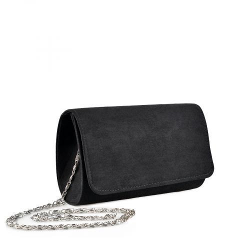 дамска  елегантна чанта черна 0136770