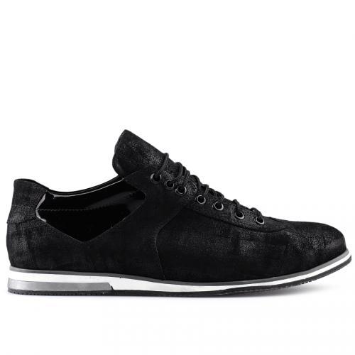 мъжки ежедневни обувки черни 0124551