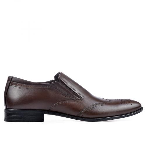 мъжки елегантни обувки кафяви 0130734