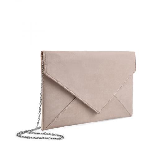 дамска  елегантна чанта бежова 0136741