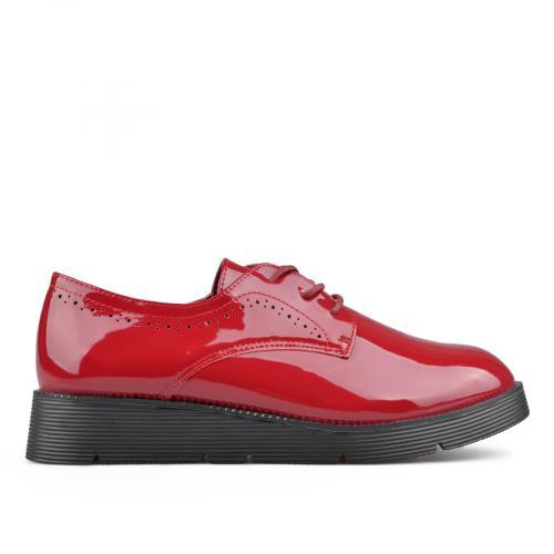 дамски ежедневни обувки червени 0136217