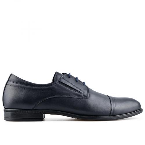 мъжки елегантни обувки тъмно сини 0138491