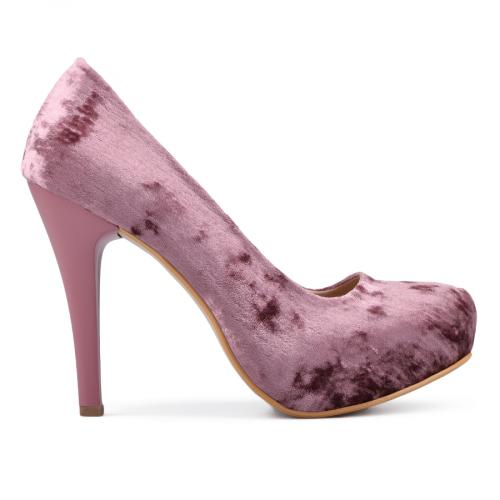 дамски елегантни обувки розови 0131240