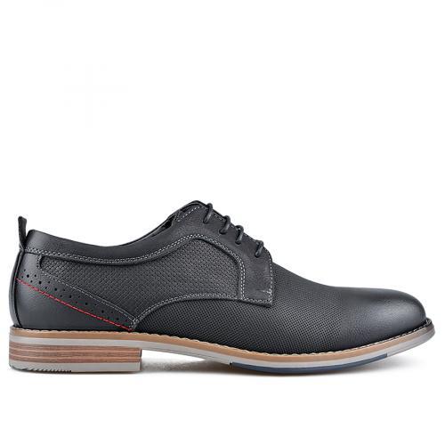 мъжки елегантни обувки черни 0136592