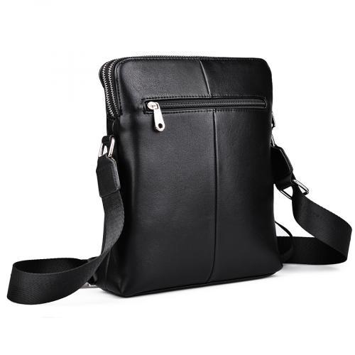 мъжка ежедневна чанта черна 0132451