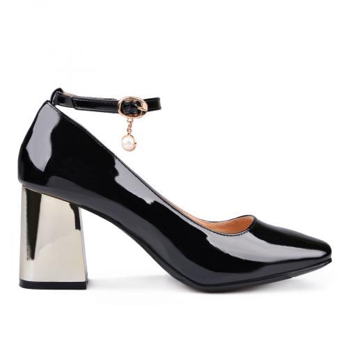 дамски елегантни обувки черни 0132382