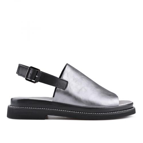 дамски ежедневни сандали сребристи 0135011