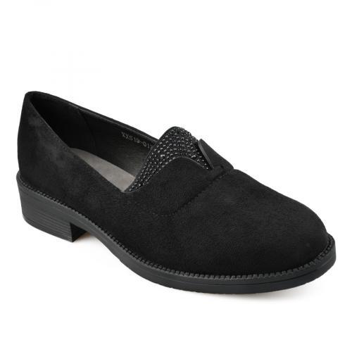 дамски ежедневни обувки черни 0137831