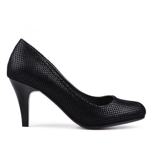 дамски елегантни обувки черни 0133122