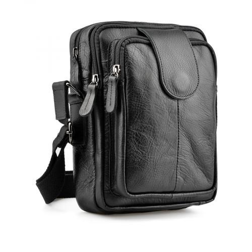мъжка ежедневна чанта черна 0138051