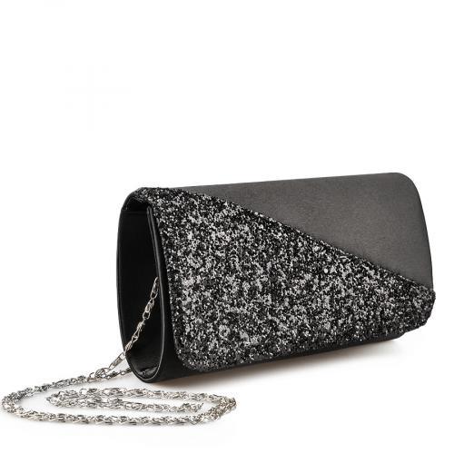 дамска  елегантна чанта черна 0136775