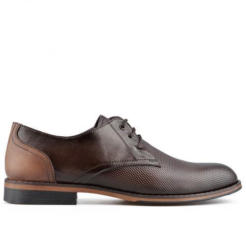 мъжки елегантни обувки кафяви 0138373