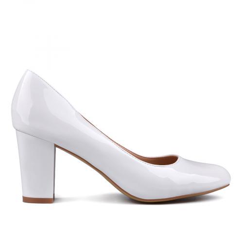 дамски елегантни обувки бели 0132953